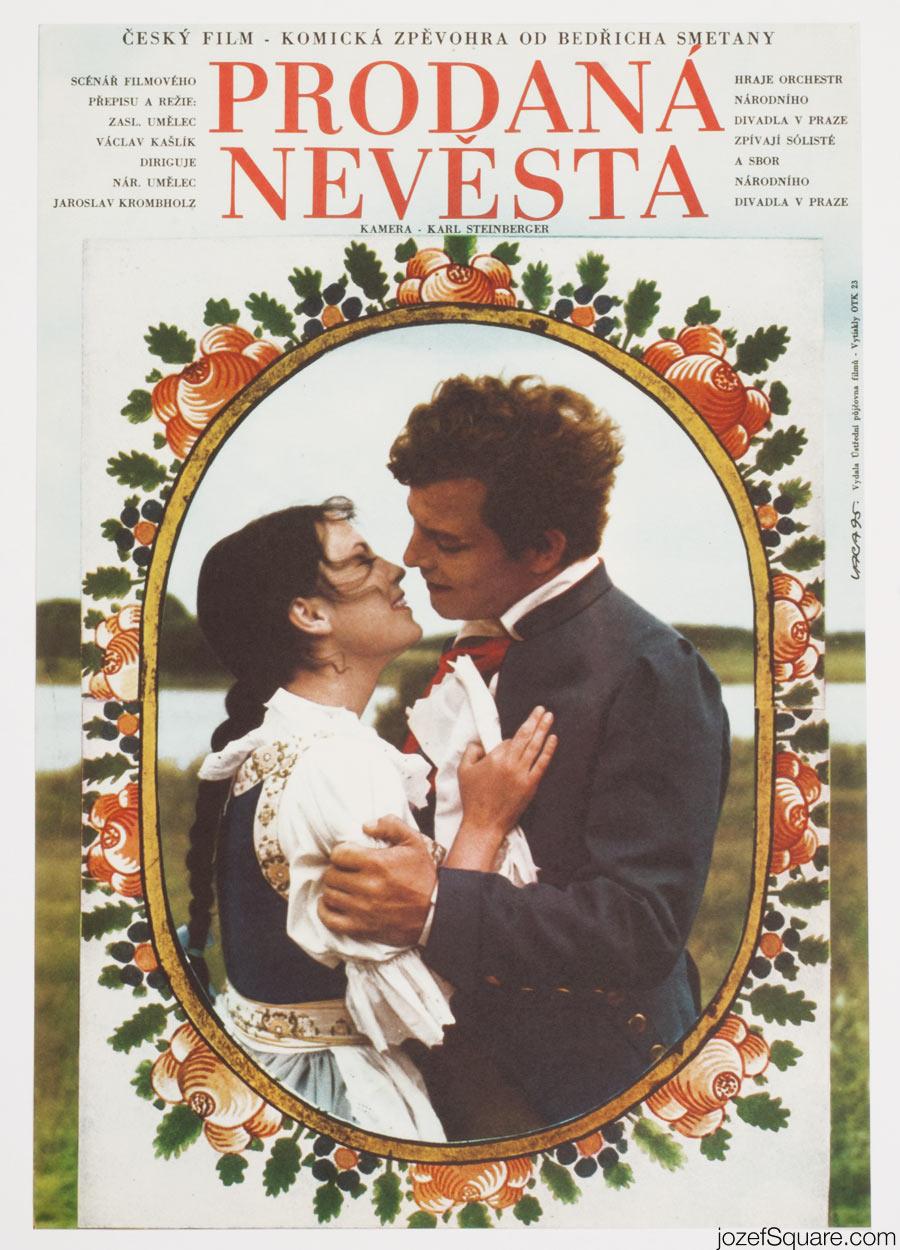Cinema Poster, The Bartered Bride, Karel Vaca