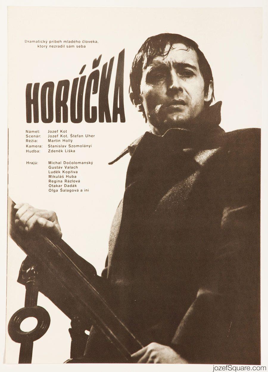 Movie Poster, Fever, 70s Cinema Art