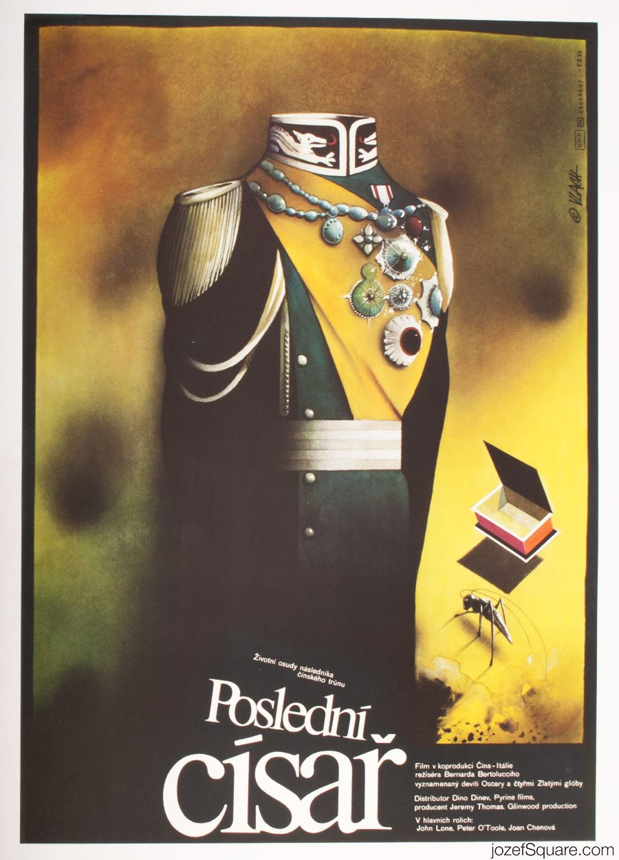 Movie Poster, The Last Emperor, Bernardo Bertolucci