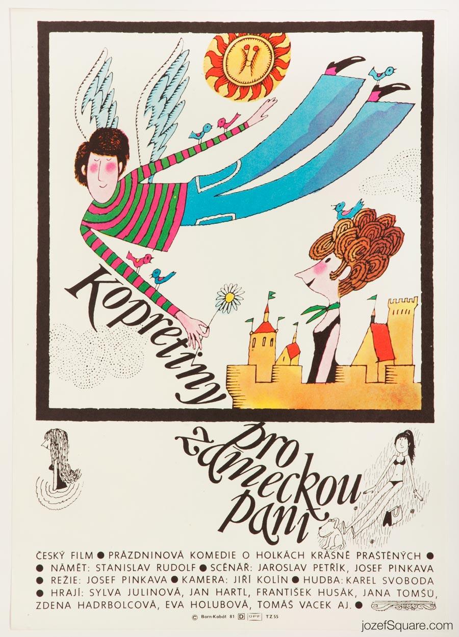 Movie Poster, Adolf Born, 80s Cinema Art