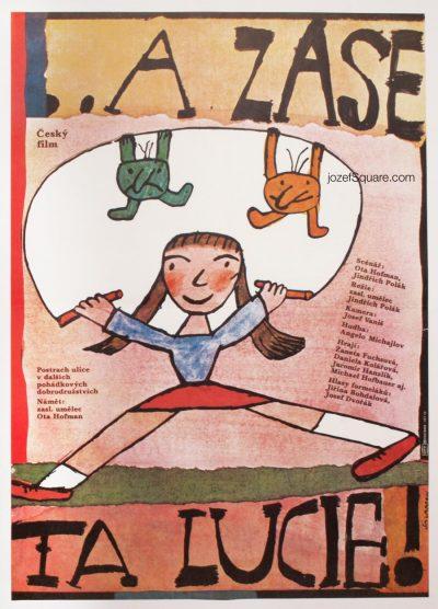 Kids Movie Poster, Lucy Again, Jiri Salamoun