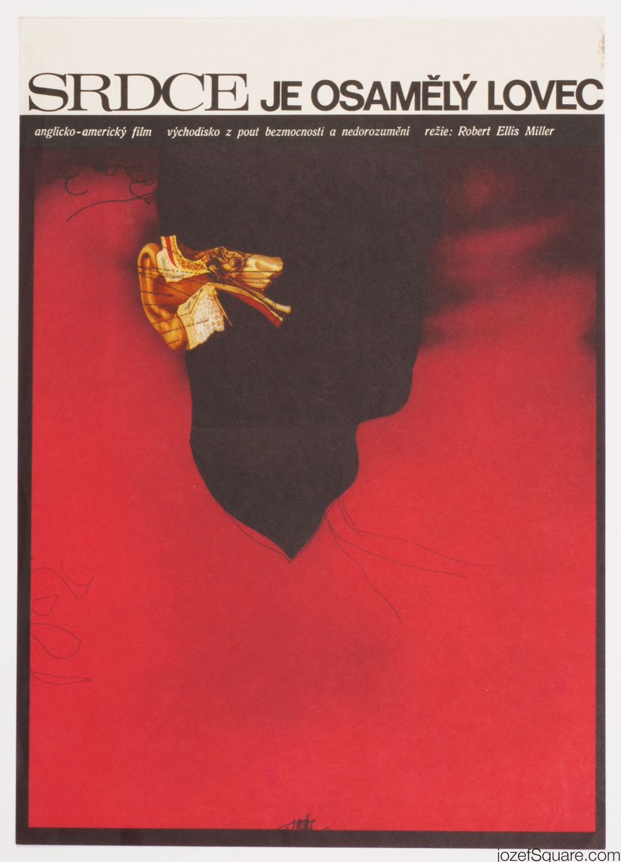 Movie Poster, The Heart Is a Lonely Hunter, Josef Vyletal