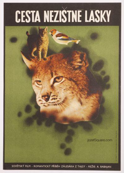 Movie Poster, The Path of Selfless Love, Josef Vyletal
