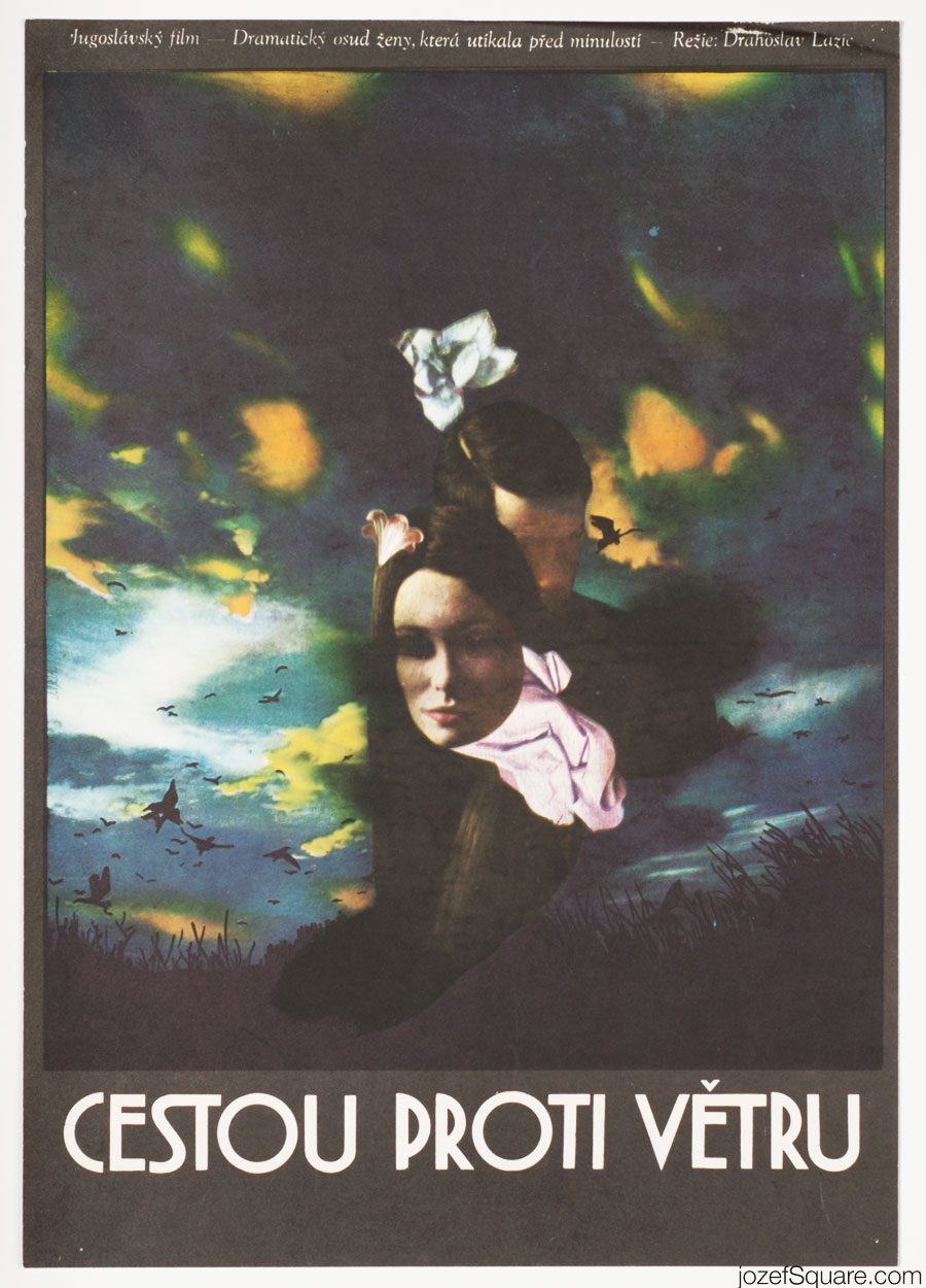 Movie Poster, The Wind, Surreal Artwork, Josef Vyletal