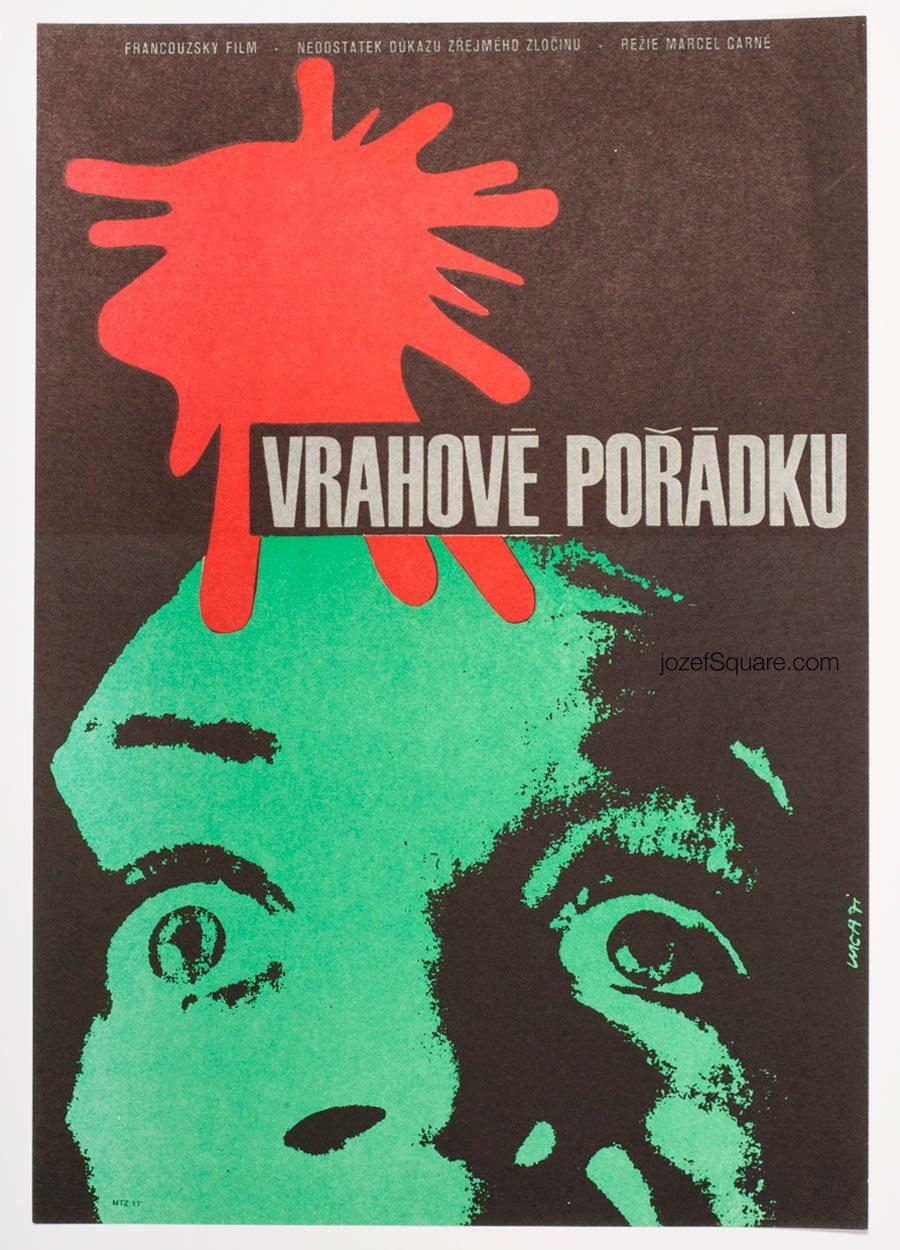 Movie Poster, Law Breakers, Karel Vaca