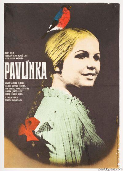 Movie Poster, Pavlinka, Karel Kachyna
