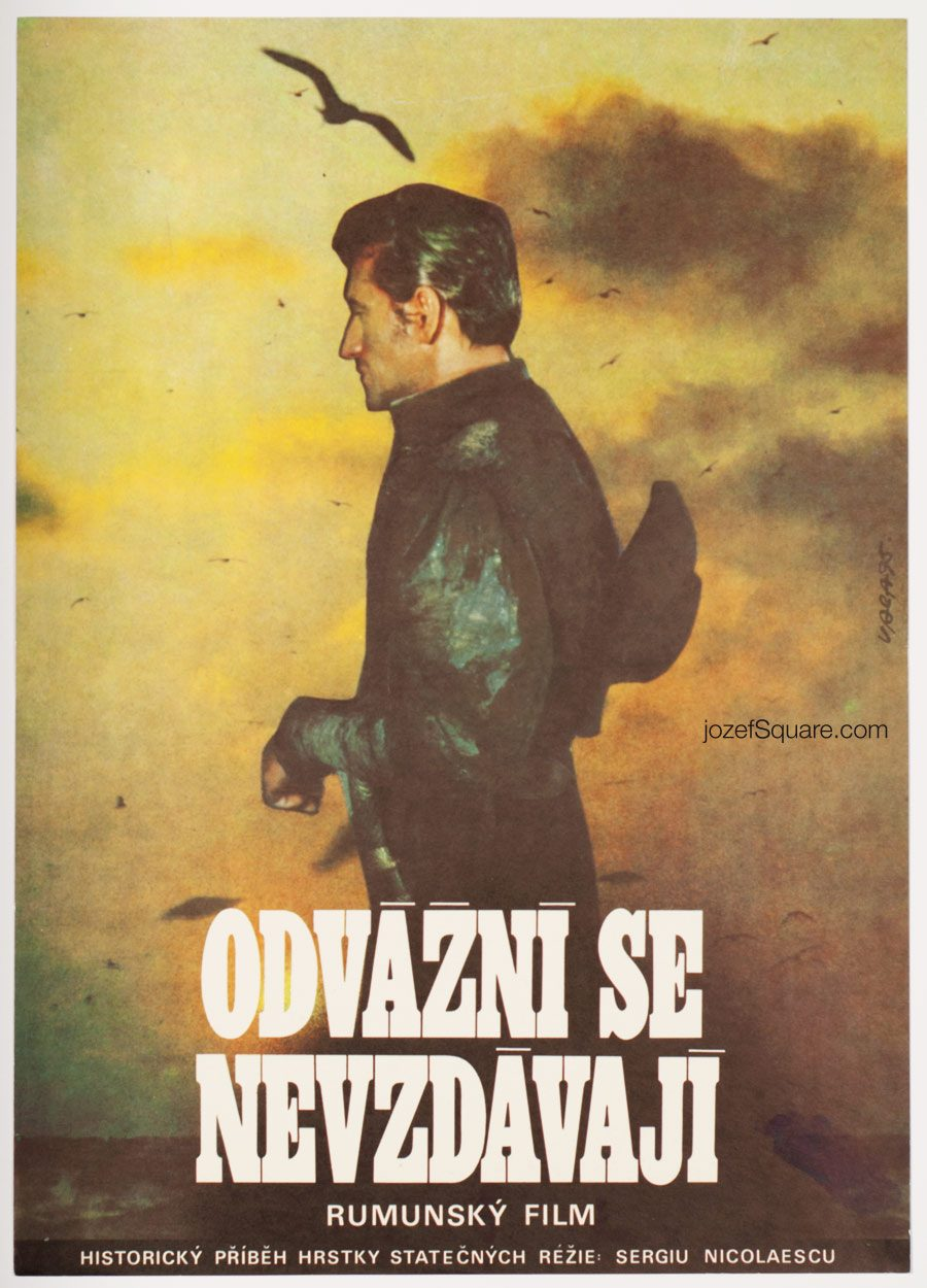 Movie Poster The Immortals, 70s Cinema Art, Karel Vaca