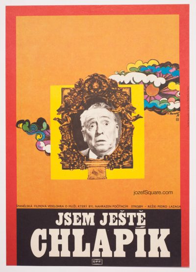 Movie Poster, Still Youngster, 70s Cinema Art