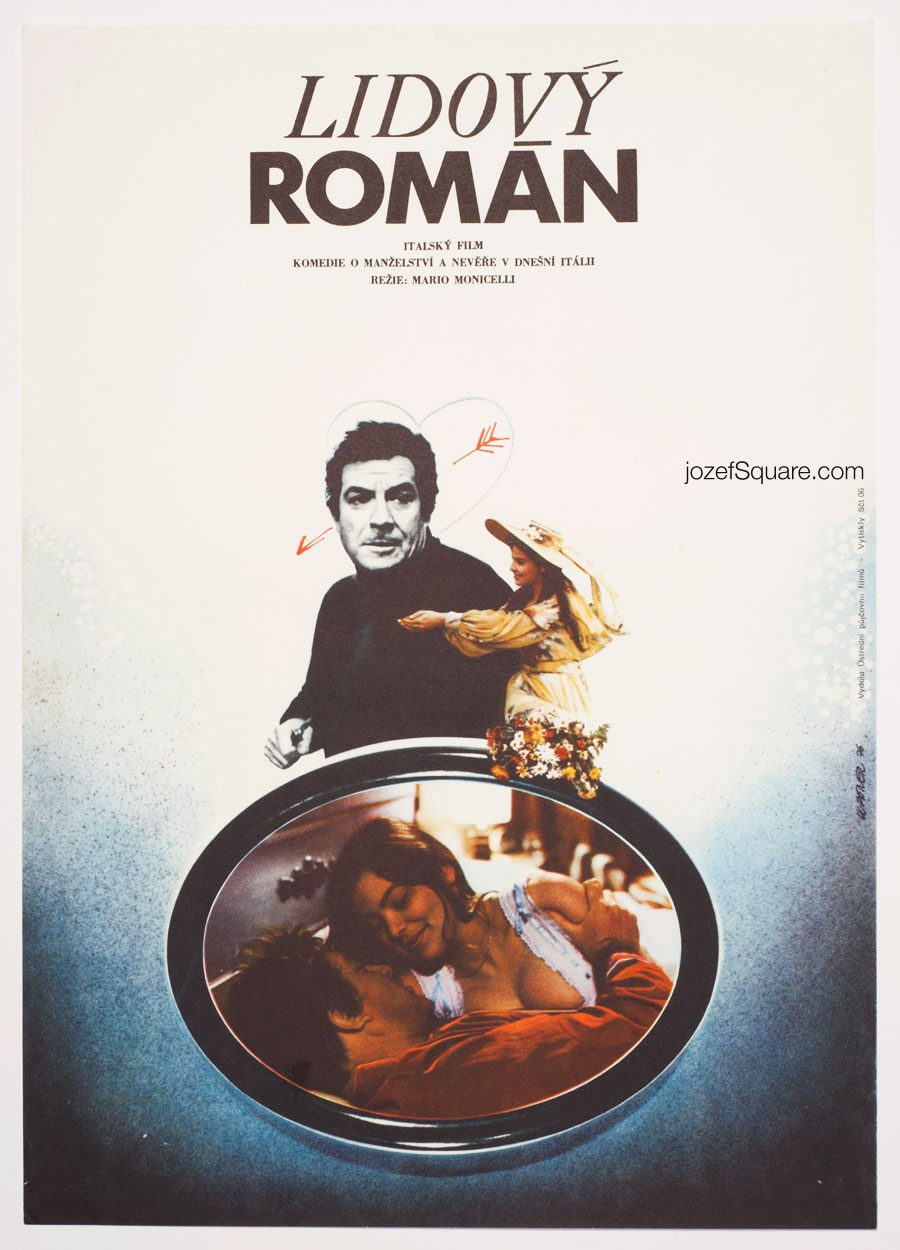 Movie Poster, Come Home and Meet My Wife, 70s Cinema Art