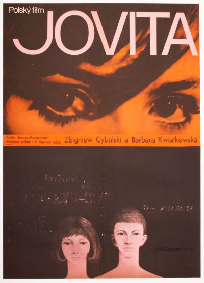 Movie Poster, Jovita, Magical 60s Cinema Art