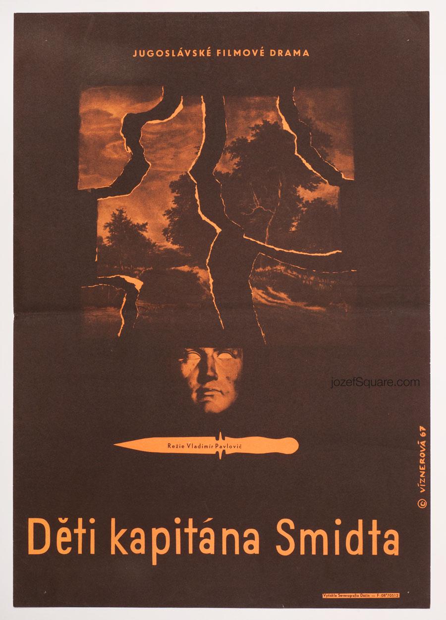 Movie Poster, Children of Duke Schmidt, 60s Cinema Art