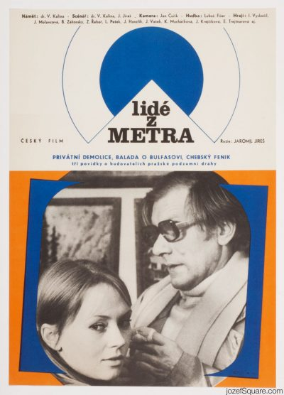 Movie Poster, People from the Subway, Jaromil Jires