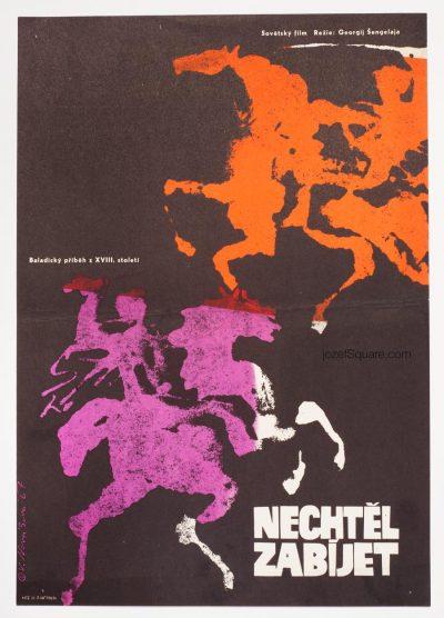 Movie Poster, He Didnt Want to Kill, Vera Novakova