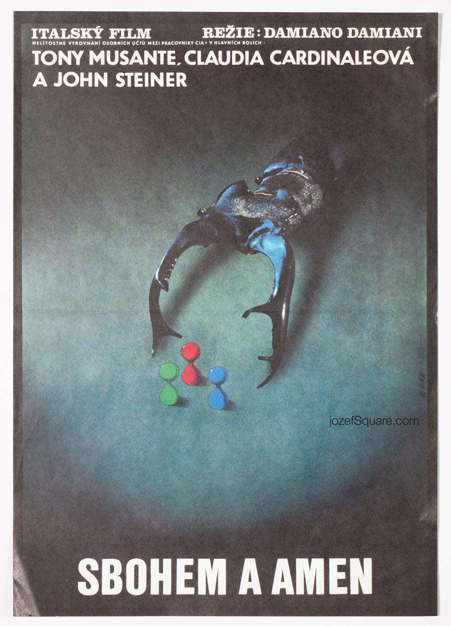 Movie Poster, Goodbye And Amen, Zdenek Vlach