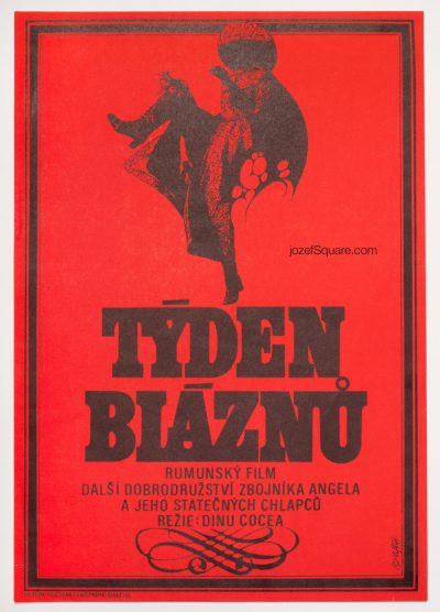 Movie Poster, The Week of the Madmen, Zdenek Vlach