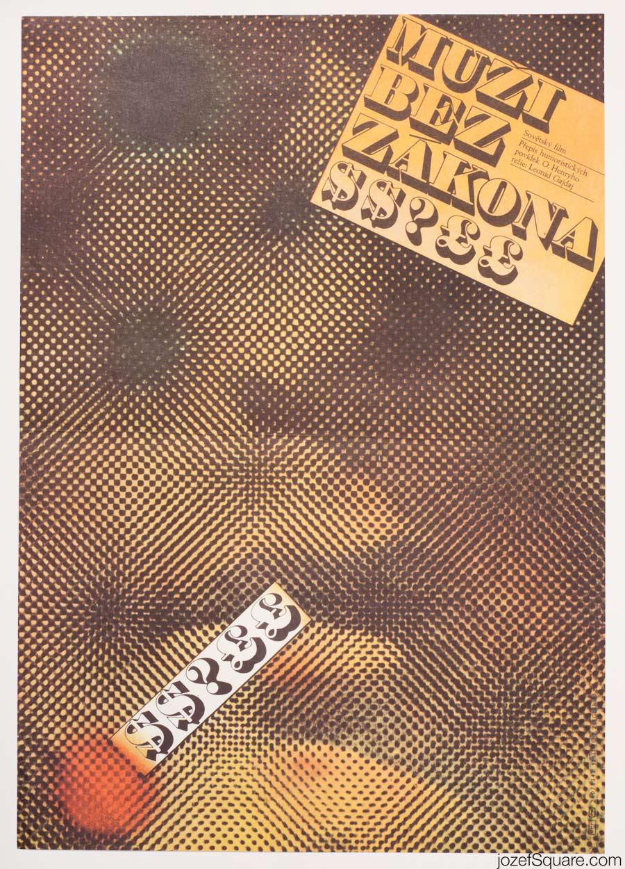 Business People Movie Poster, Zdenek Ziegler