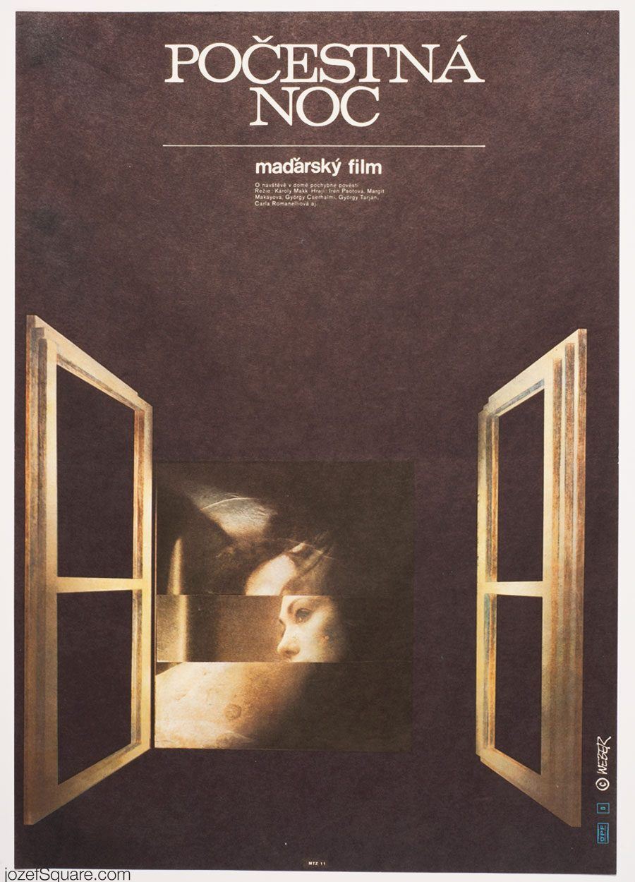 Movie Poster, A Very Moral Night, Jan Weber