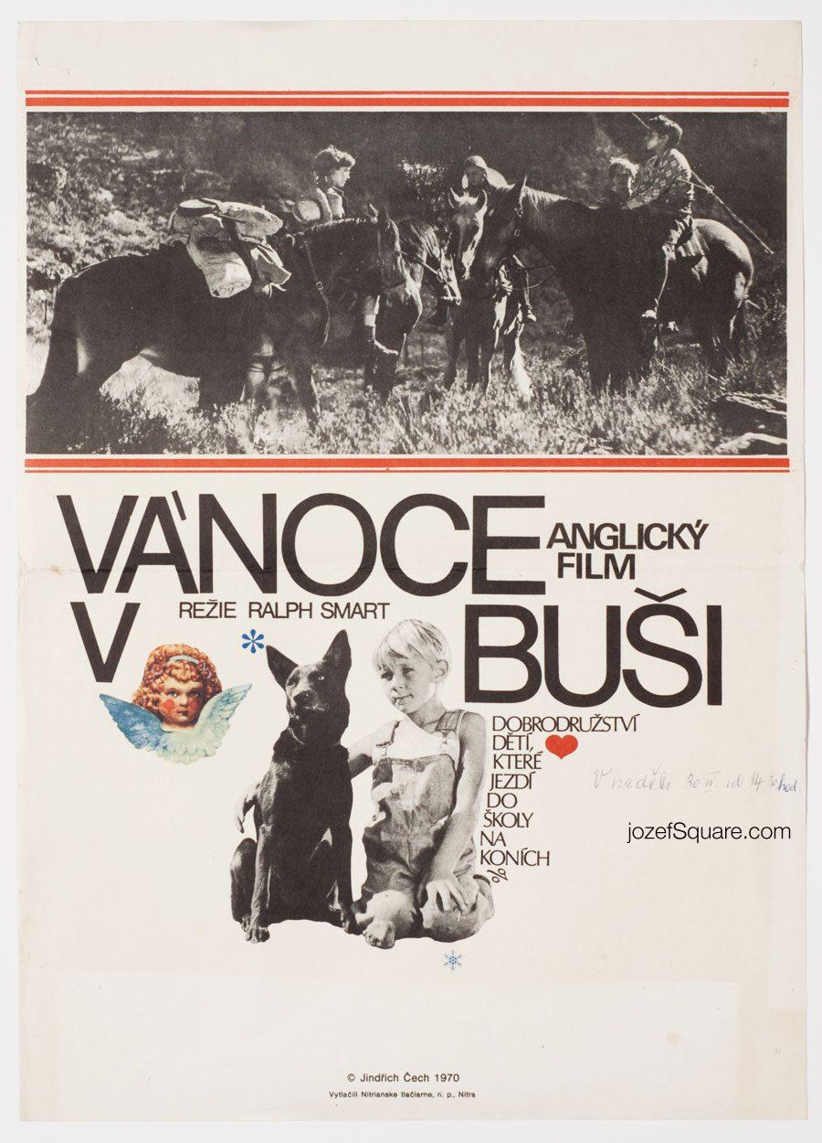 Movie Poster, Bush Christmas, 70s Cinema Art