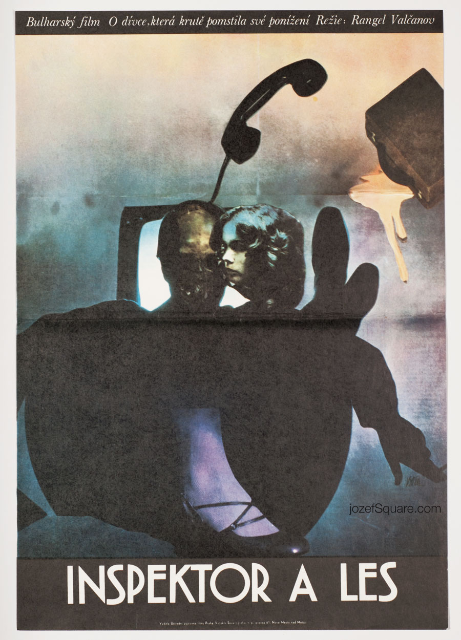 Movie Poster, Judge and the Forest, Josef Vyletal