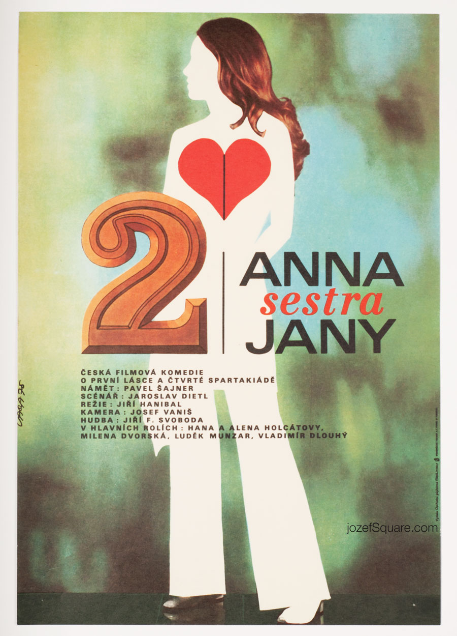 Movie Poster, Anne, Jane's Sister, Karel Vaca