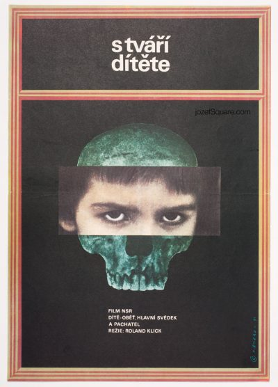 Movie Poster, Little Vampire, 70s Cinema Art