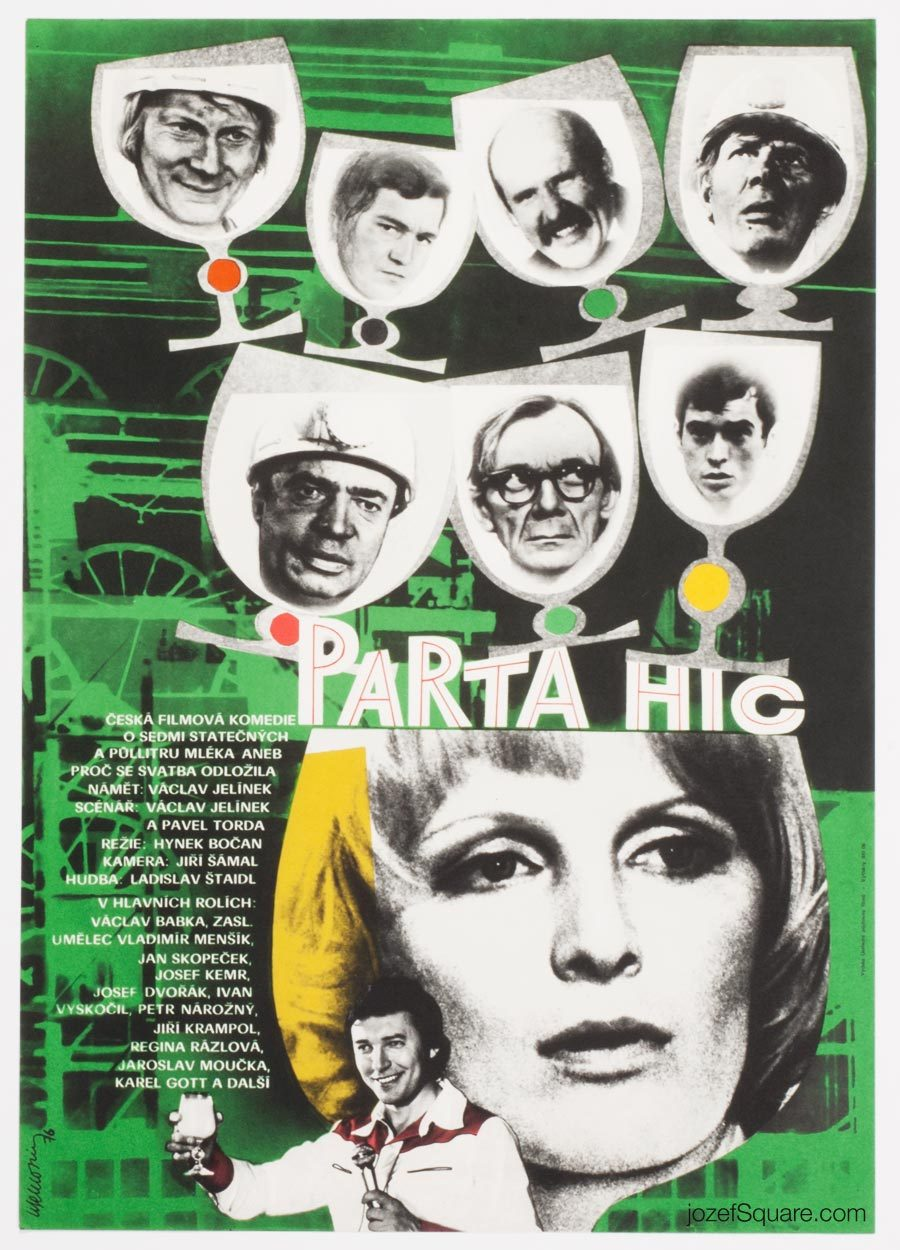 Collage Movie Poster, Our Gang, 70s Cinema Art