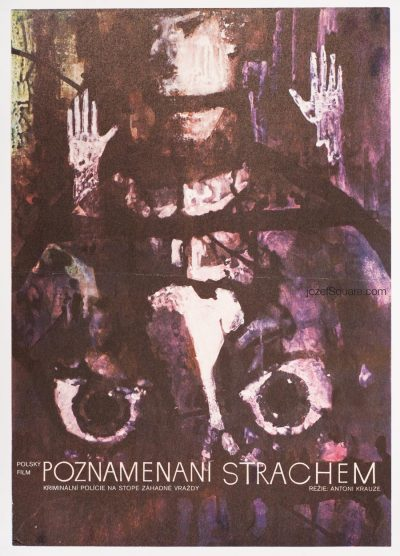 Movie Poster, Fear, 70s Polish Cinema