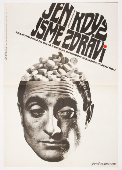 Movie Poster, As Long as You've Got Your Health, 60s French Cinema