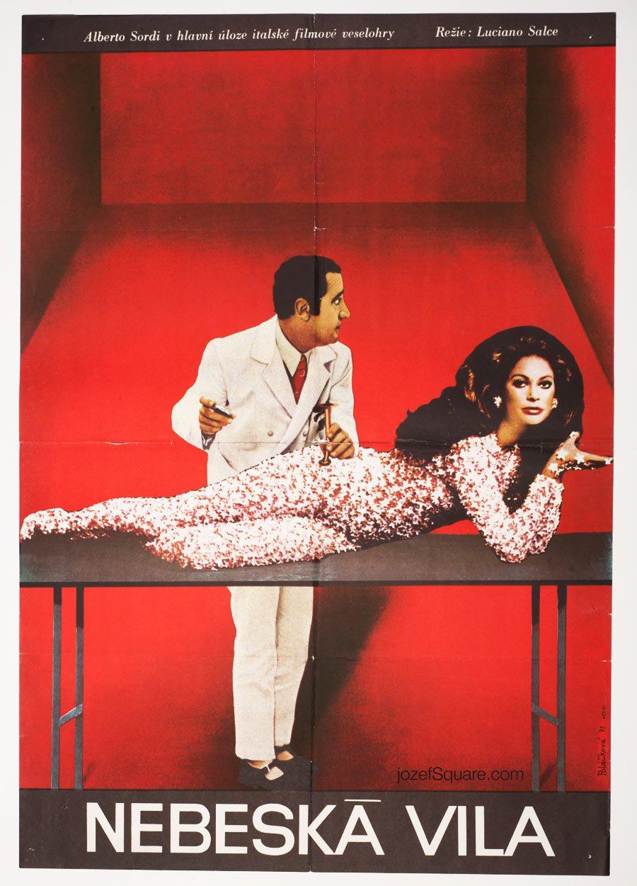 Movie Poster, Medicine Italian Style, Alberto Sordi