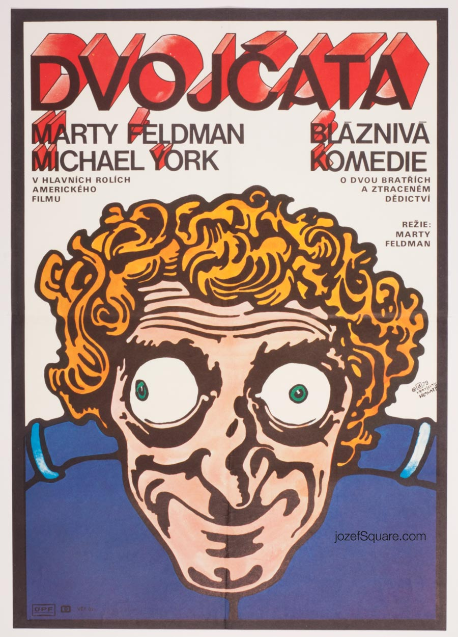 Movie Poster, The Last Remake of Beau Geste, Marty Feldman