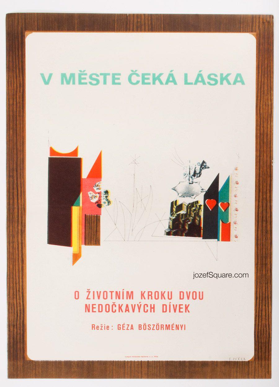 Movie Poster, Birdies, 70s Hungarian Cinema