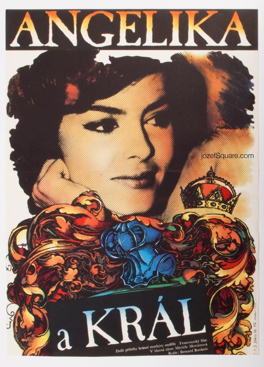 Movie Poster, Angélique and the King, 60s French Cinema
