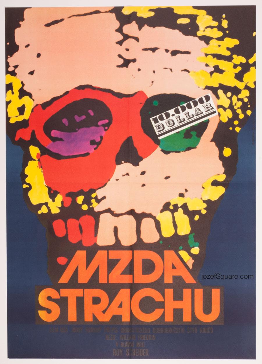 70s Movie Poster, Sorcerer, Karel Vaca