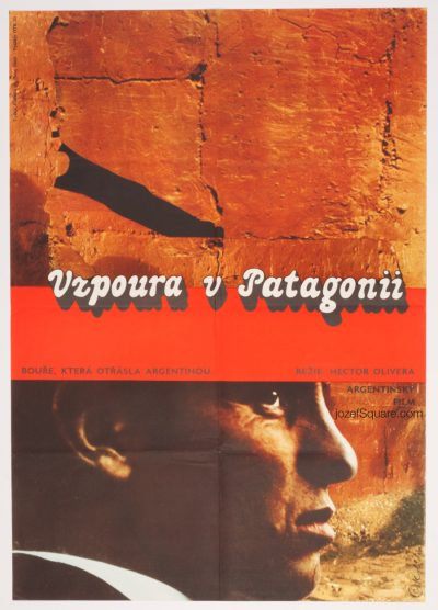 Movie Poster, Rebellion in Patagonia, 70s Cinema Art