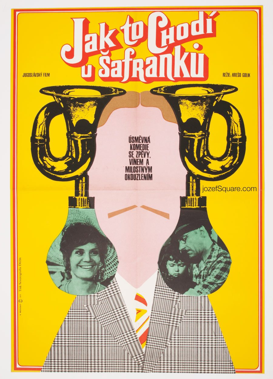 Movie Poster, One Song a Day Takes Mischief Away, 70s Cinema Art