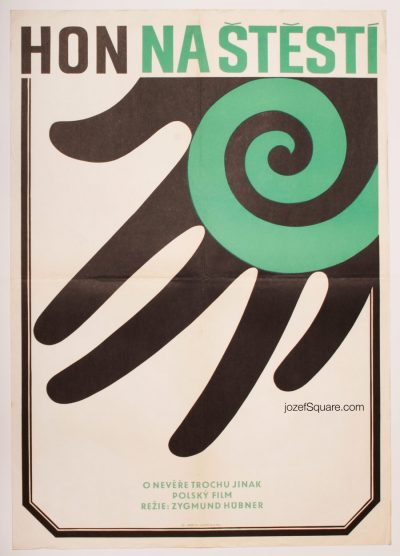 Minimalist Movie Poster, Chase, 70s Cinema Art