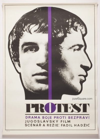Movie Poster Protest, 60s Cinema Art