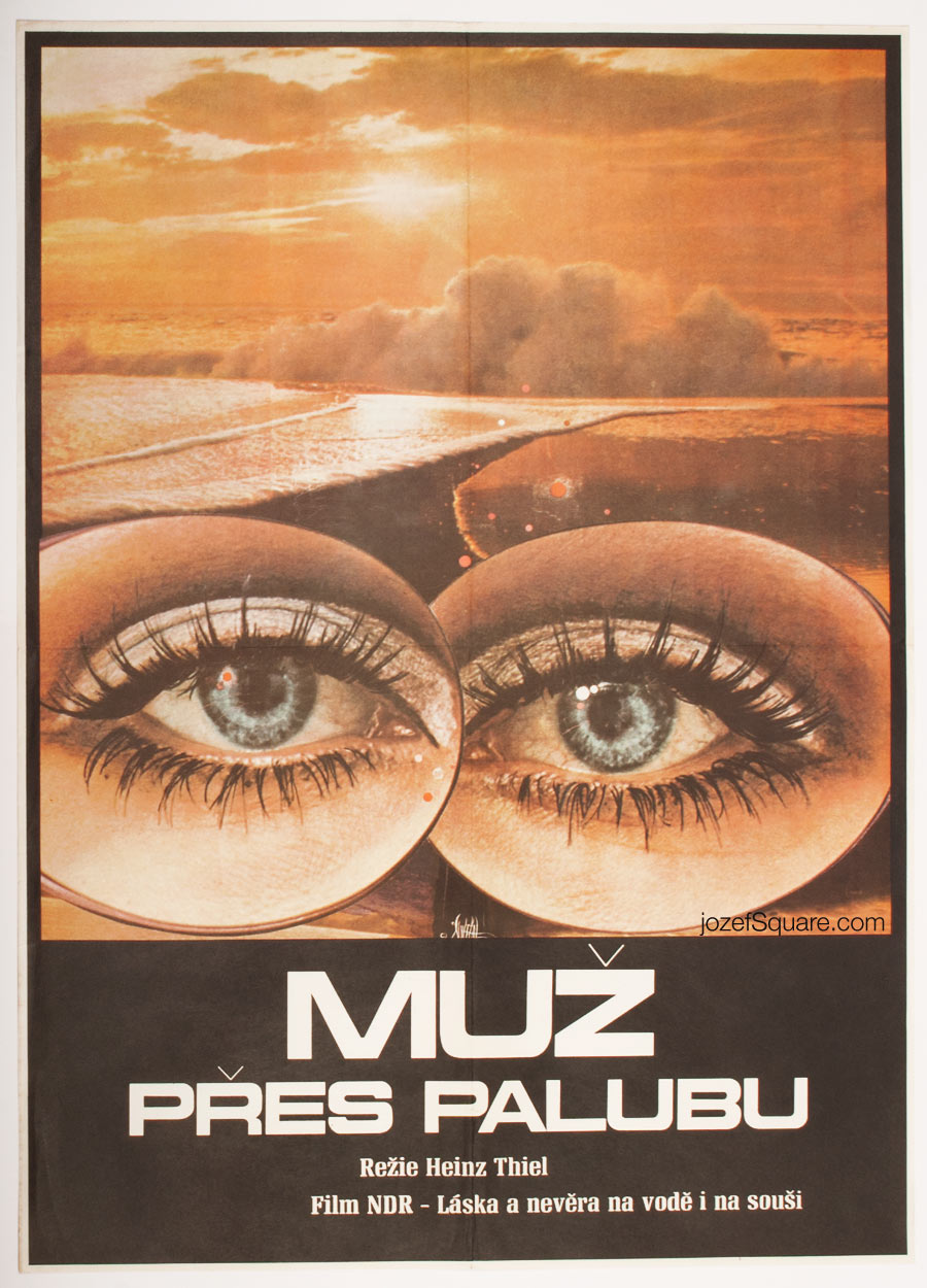 Movie Poster, Close to the Wind, 70s Cinema Art