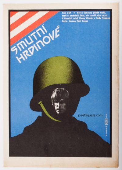 Minimalist Movie Poster, Heroes, 80s Cinema Art