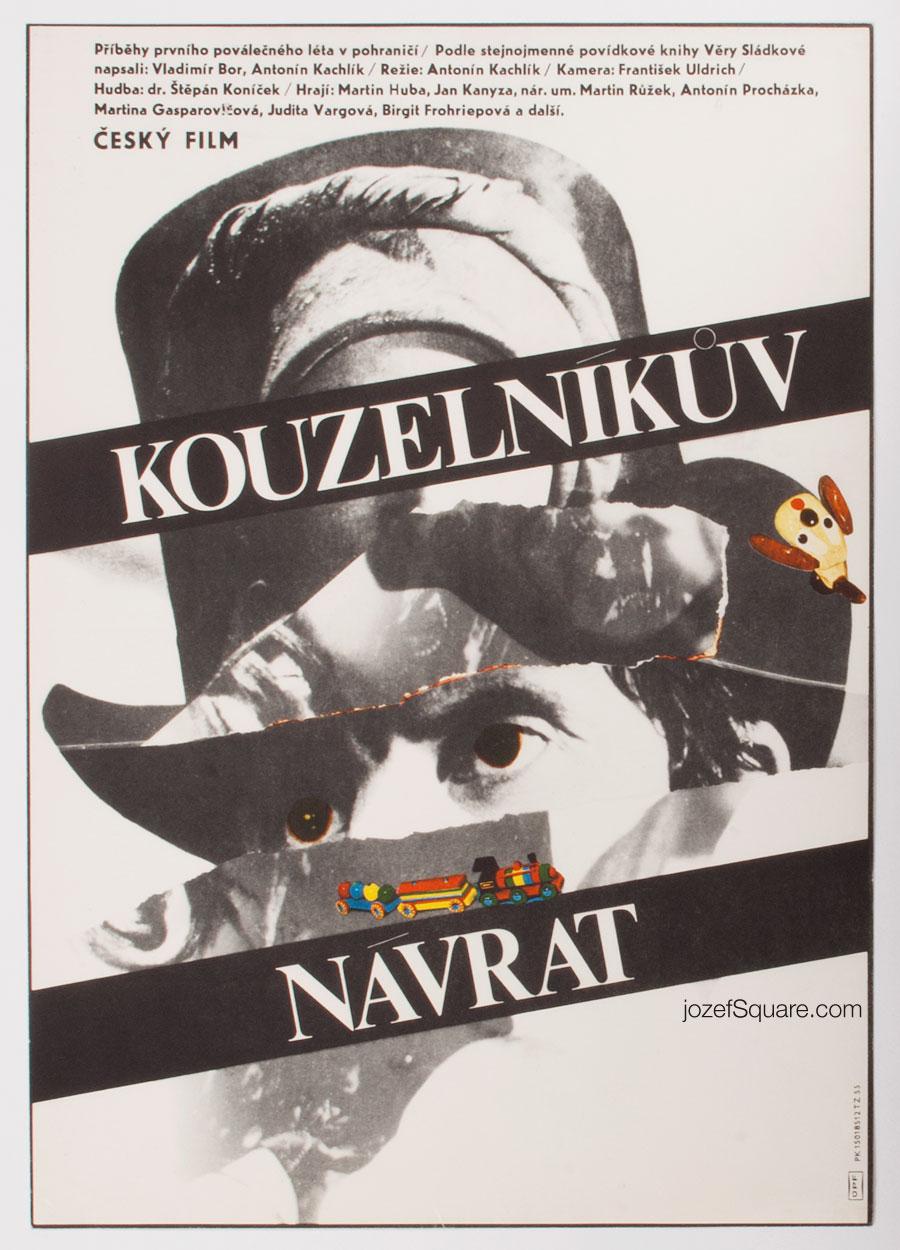 Movie Poster, The Return of a Magician, Milan Grygar