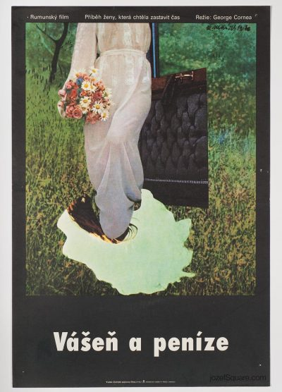 Movie Poster, Patima, Collage Artwork, 70s Cinema Art