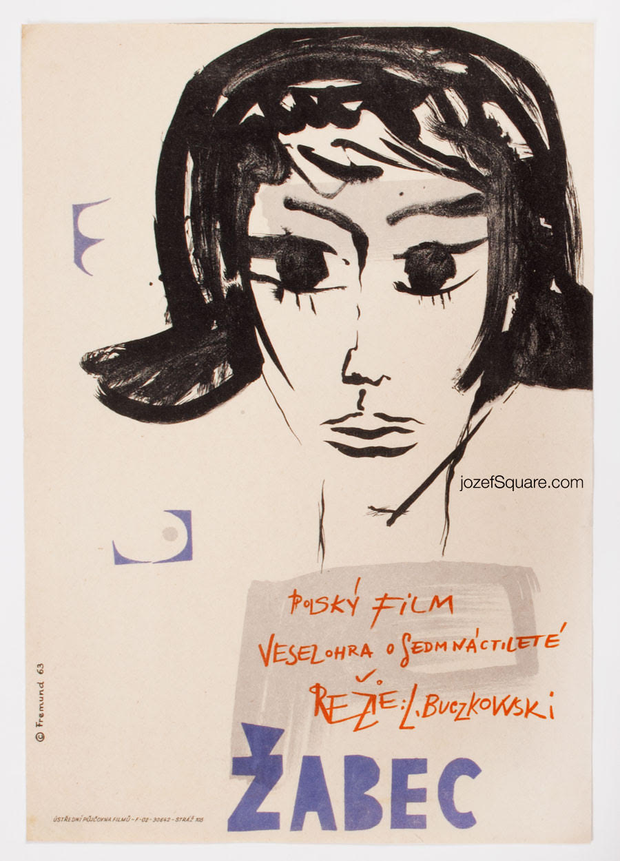 Movie Poster, Teenager, 60s Cinema Art
