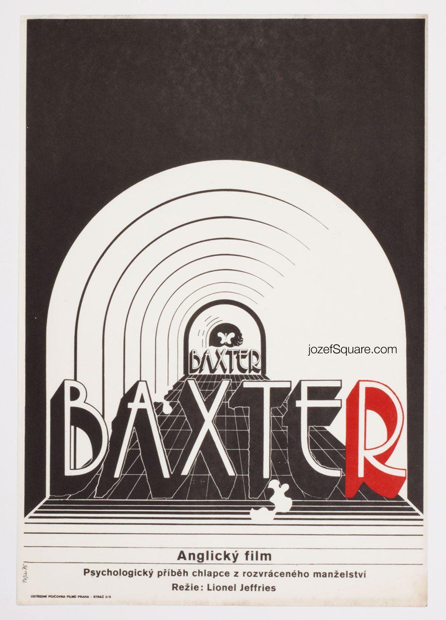 Baxter! movie poster, Cinema Poster Art