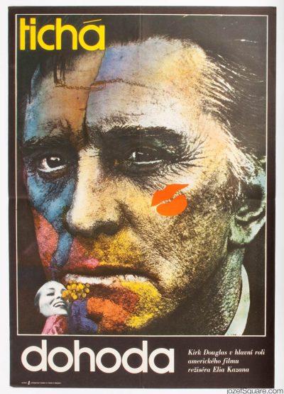 Movie Poster, The Arrangement, Elia Kazan , 70s Cinema Art