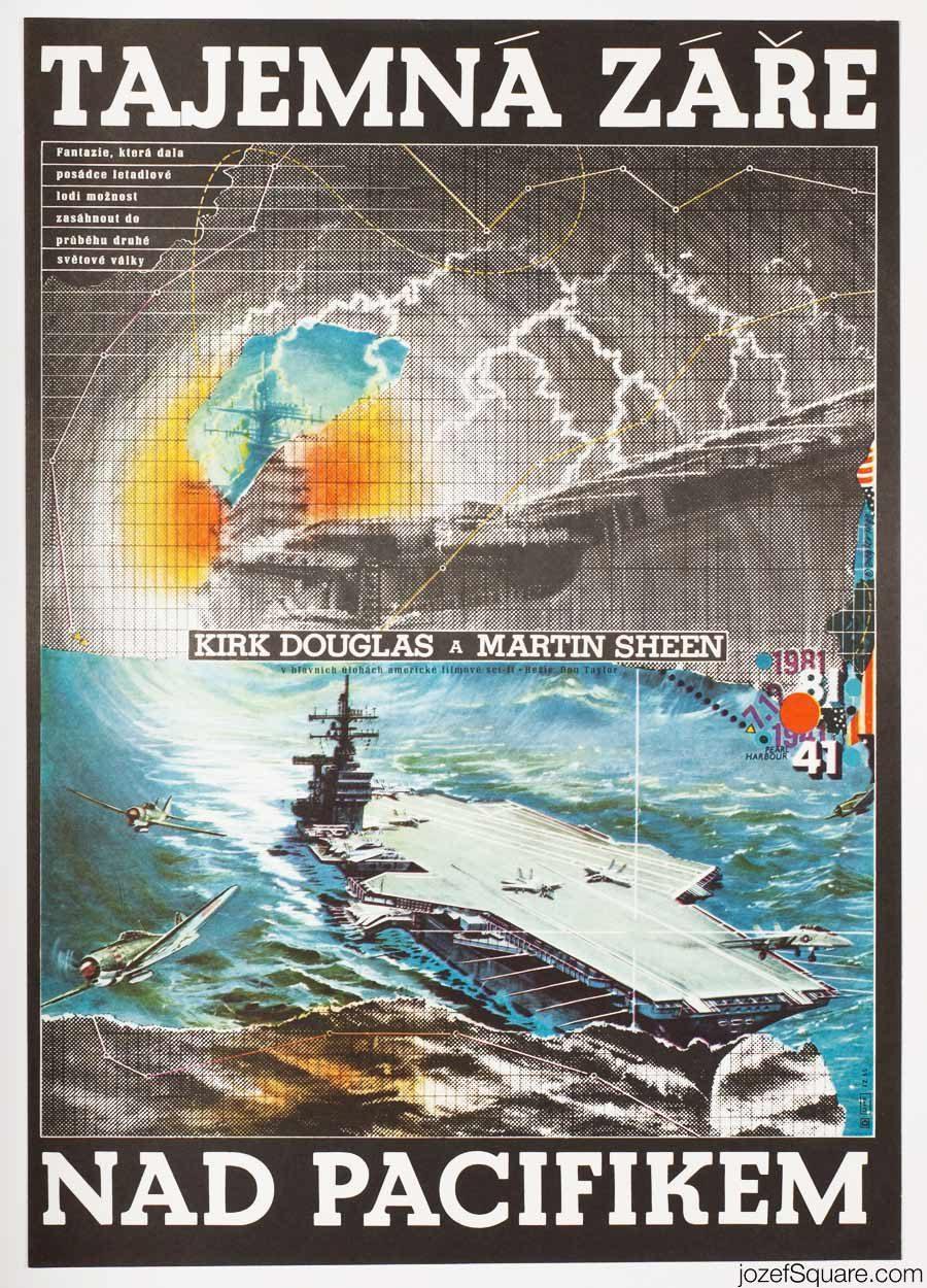 Final Countdown movie poster, Kirk Douglas, Cinema Art