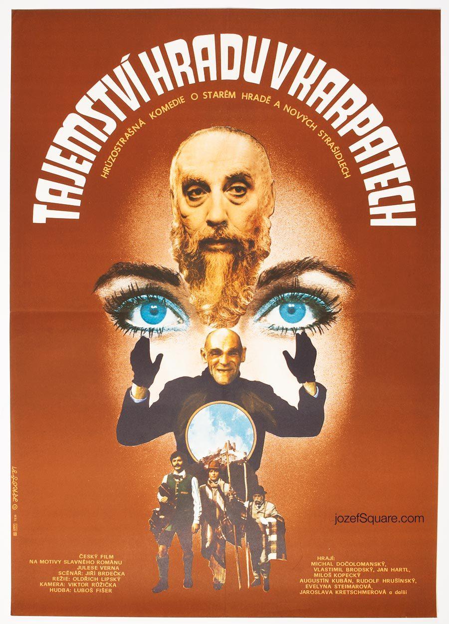 Movie Poster, Collage artwork, 80s Cinema Art