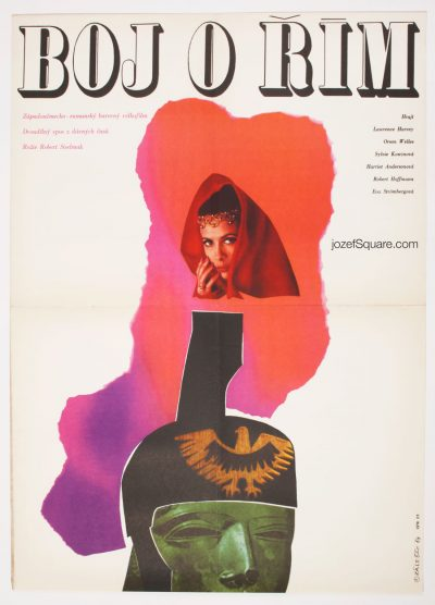 Movie Poster, Orson Welles Cinema, 60s Poster Art