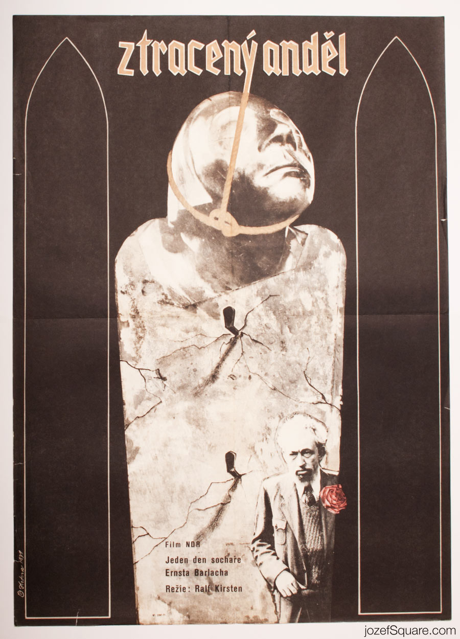 Movie Poster, Lost Angel, Surreal Poster Art