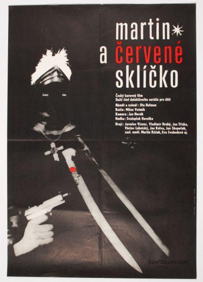 Movie Poster, Minimalist Art, 60s Cinema