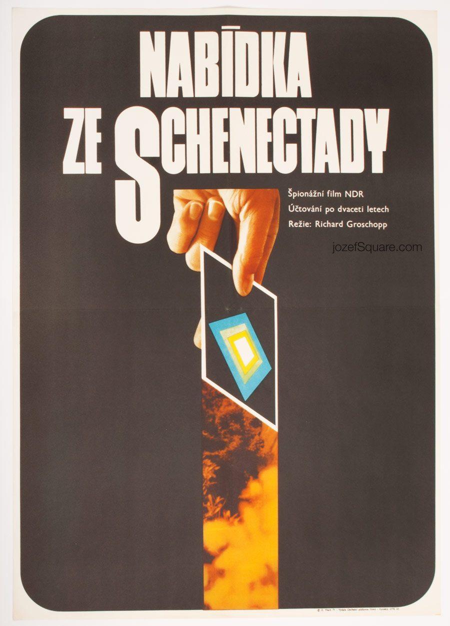 Movie Poster, Offer from Schenectady, 70s Cinema Art